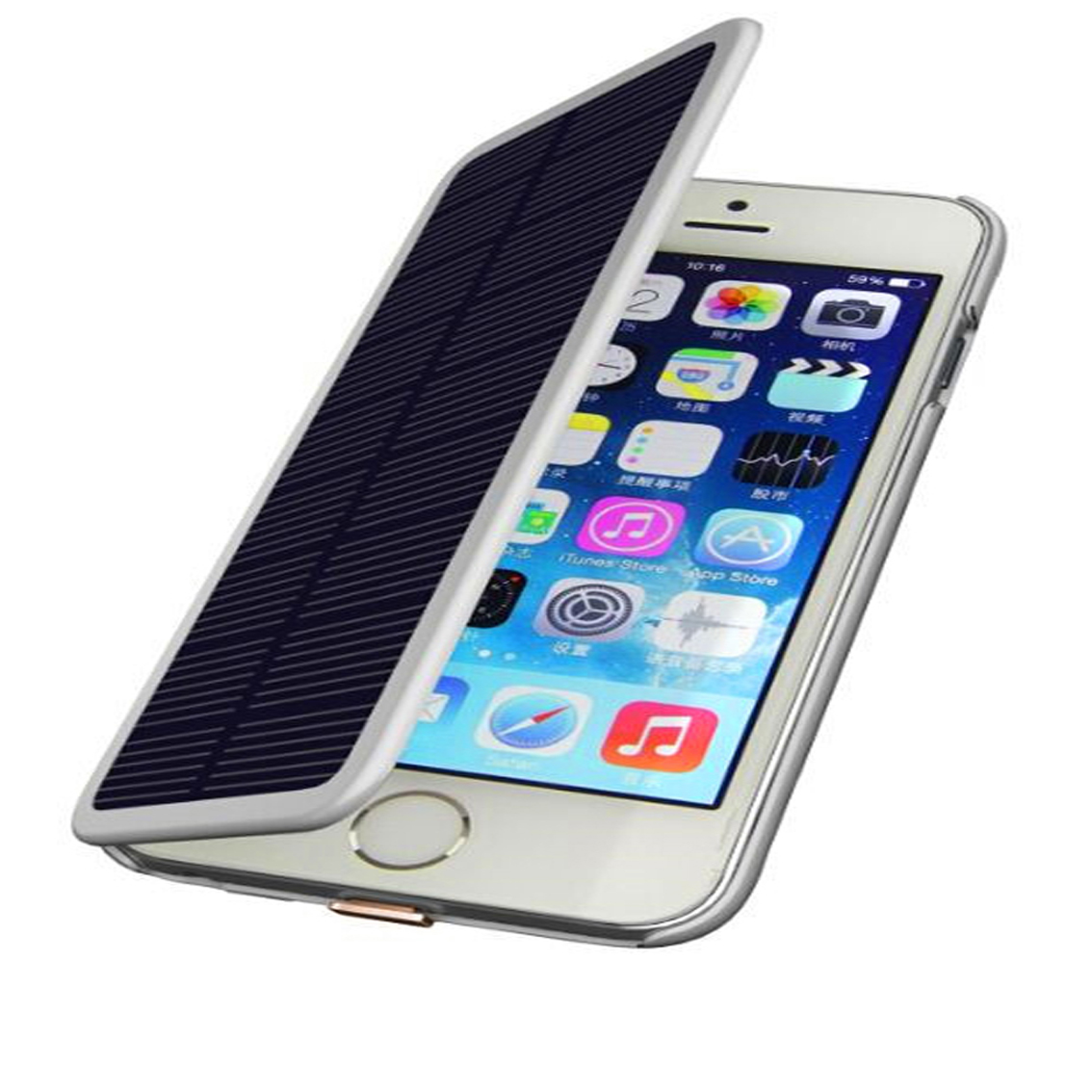 solar powered iphone charger iphone 6 solar power charger 16158