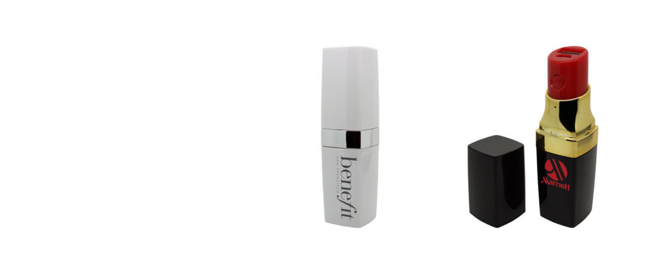 Branded Lipstick Powercharger, Powerbank, Powerstick, Juice Bank.