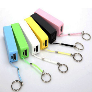 Iphone keyring charger